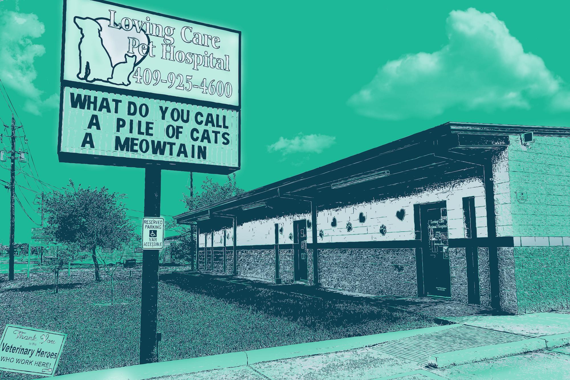 Exterior Loving Care Pet Hospital